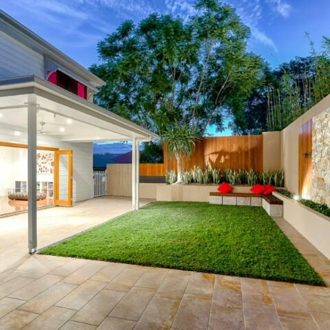 Contemporary Courtyard Covering : 1000+ images about Modern Gardens on Pinterest  Modern front yard ...