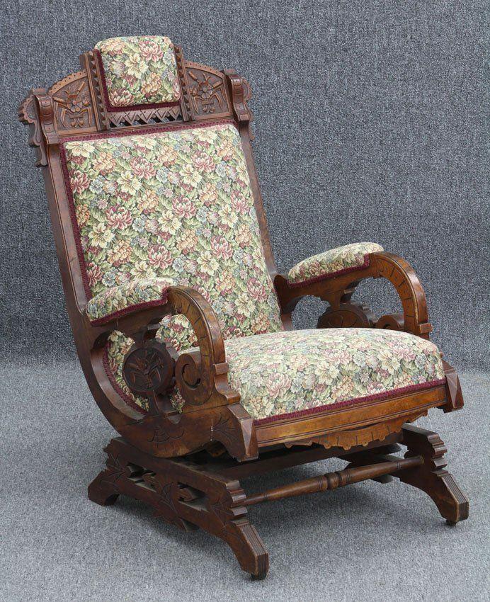 Victorian Carved Walnut Platform Rocker - 26 Best Platform Rockers Images On Pinterest Chairs, Homes And