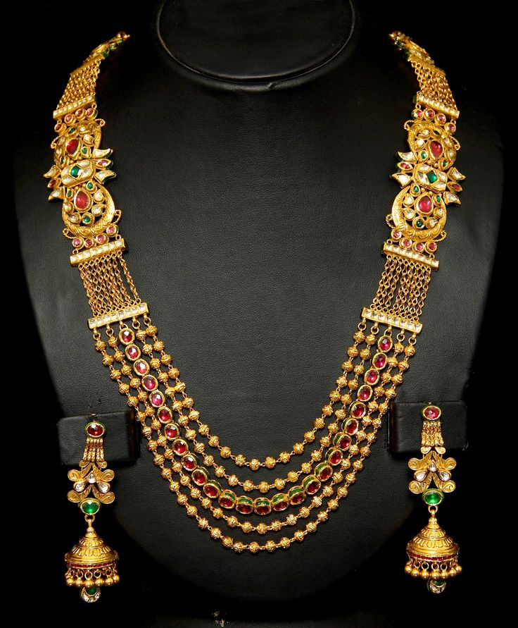 Indian Gold Jewellery From Websites For: Gold Beads, Gemstones And In India
