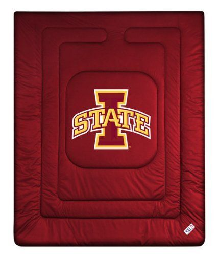 "Iowa State Cyclones Locker Room Full/Queen Bed Comforter (86""x86"") NCAA by Sports Coverage. $79.95"
