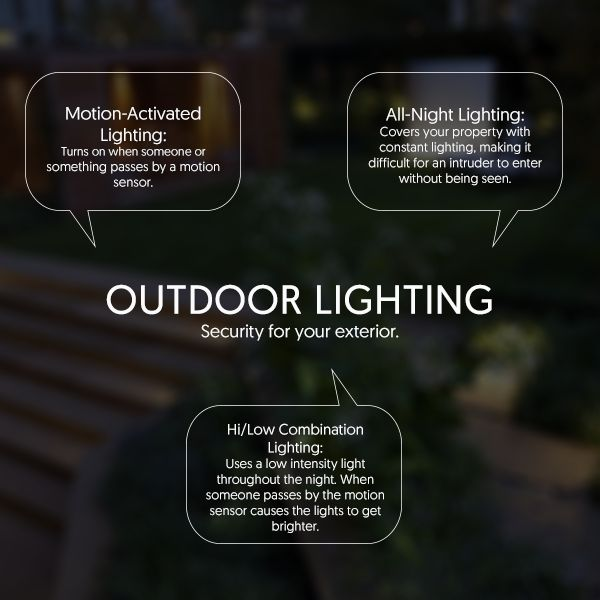 Effective outdoor security lighting can help you monitor and protect the perimeter of your home while adding beauty to your landscaping. Source: http://bit.ly/1P38fUm