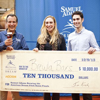 Congratulations to #BrewlaBars and #LucaandBosco for winning in our #BTAD Pitch Room Competition! Read more on the Samuel Adams Blog...