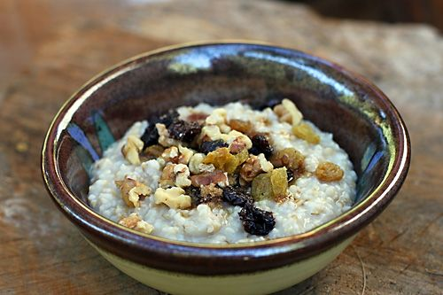 Overnight Steel Cut Oatmeal | Recipe