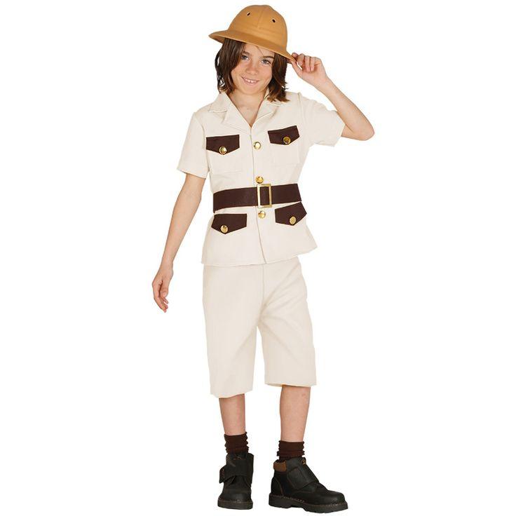 Disfraz de Explorador Safari para niño #disfraces #carnaval #novedades2016