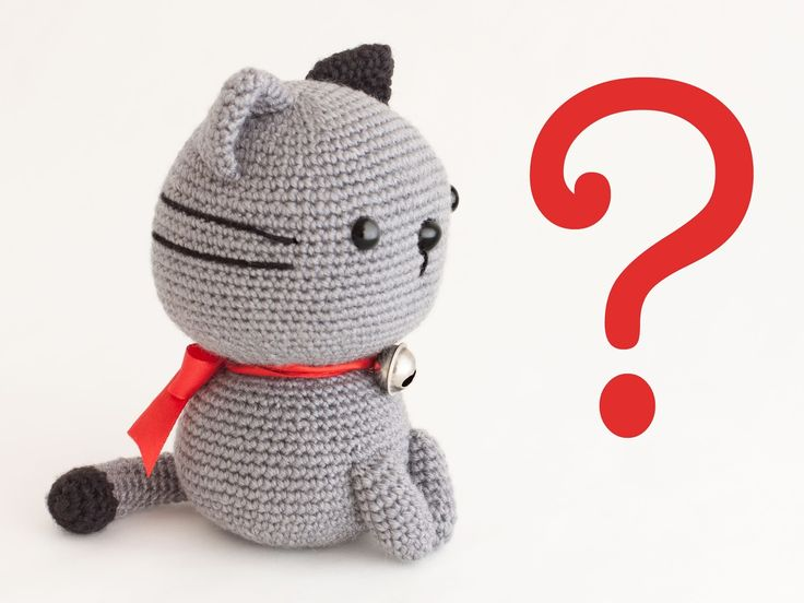 Amigurumi cat Nekori (link to pattern) ༺✿ƬⱤღ  https://www.pinterest.com/teretegui/✿༻