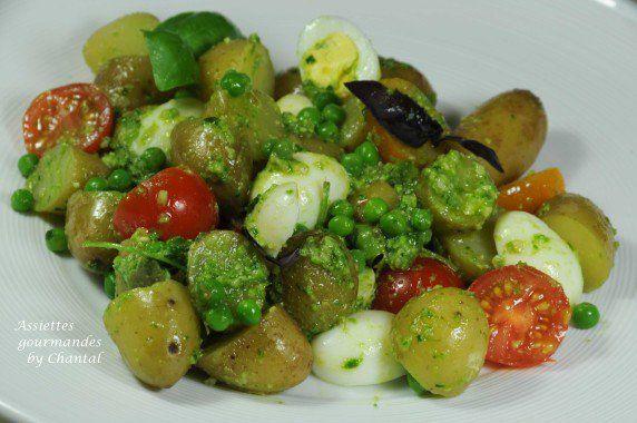 Salade de pommes de terre…. à l'anglaise. Yotam Ottolenghi