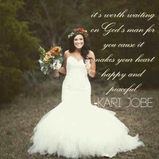 Kari jobe. Married . Quote .