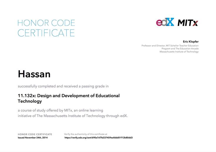 MITx Educational Technology