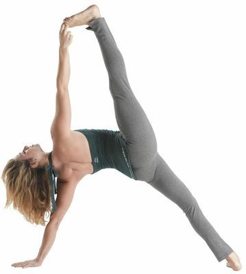 Twisted seam legging yoga tights -Smoke heather - $84.95 - You know that uber-comfy, crazy flattering pair of yoga tights you wish you could wear all the time? Fire and Shine have found them in plush organic cotton with a cute little ankle split and understated ruching below the knee. #fireandshine #yoga #fashion #ethical #hyde