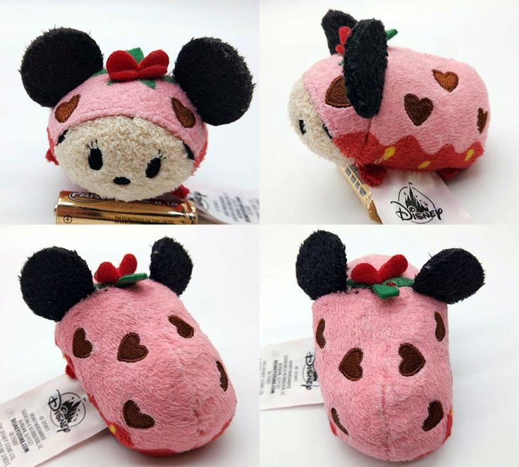 Preview: Chocolate Covered Strawberry Minnie Tsum Tsum (Valentine's Day 2018)