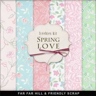 Far Far Hill - Spring Love Freebies Kit