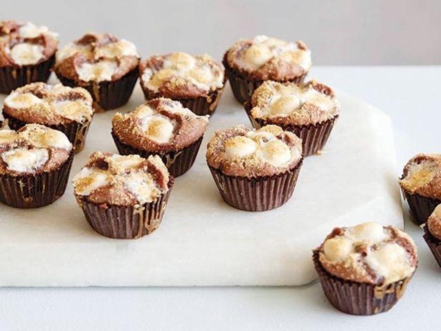 S'more Brownie Bites Recipe : Giada De Laurentiis : Food Network