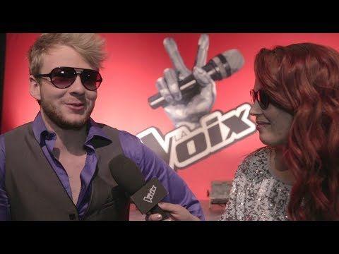 La Voix | Entrevue Web | Yoan | Direct 3