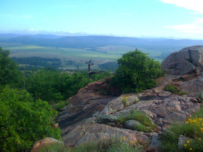 8.) Elk Mountain Trail-Wichita Mountains: S.W. OK