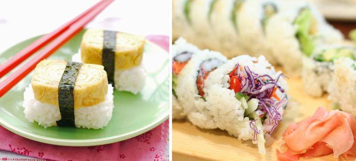 #Veg e #raw #sushi, l'alternativa al tradizionale sushi. http://bit.ly/1renAKb