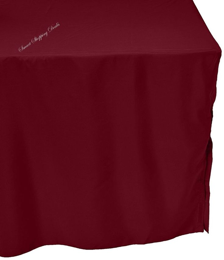 Tablecloth Rectangle 6 ft Wedding Tablecloths Outdoor Table Cloth 72x30 In  #NA