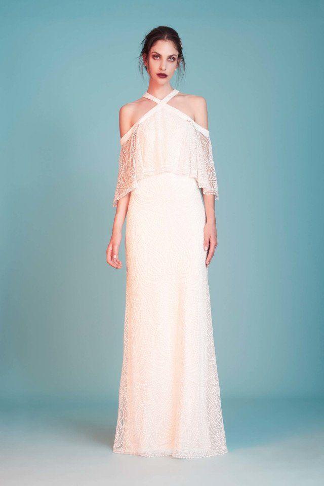 Tadashi Shoji  #VogueRussia #bridal #springsummer2018 #TadashiShoji #VogueCollections