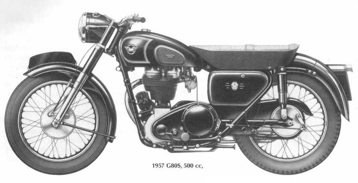 1957 Matchless G80 S