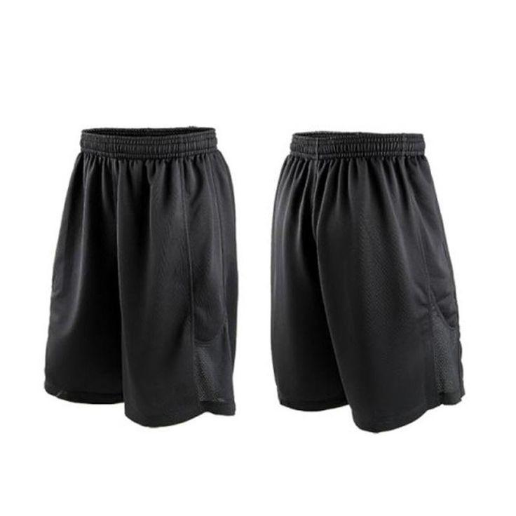 [Visit to Buy] Cheap Stars Black Basketball Shorts Quick Dry Breathable Training Basket-ball Jersey Sport Running Shorts Men Sportswear #Advertisement