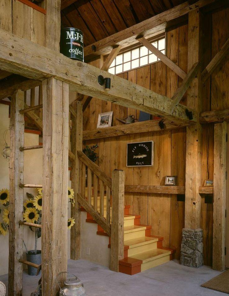 adelaparvu.com despre hambar transformat in casa de vacanta, casa din lemn, casa americana, casa SUA, design Miller Architects (4)