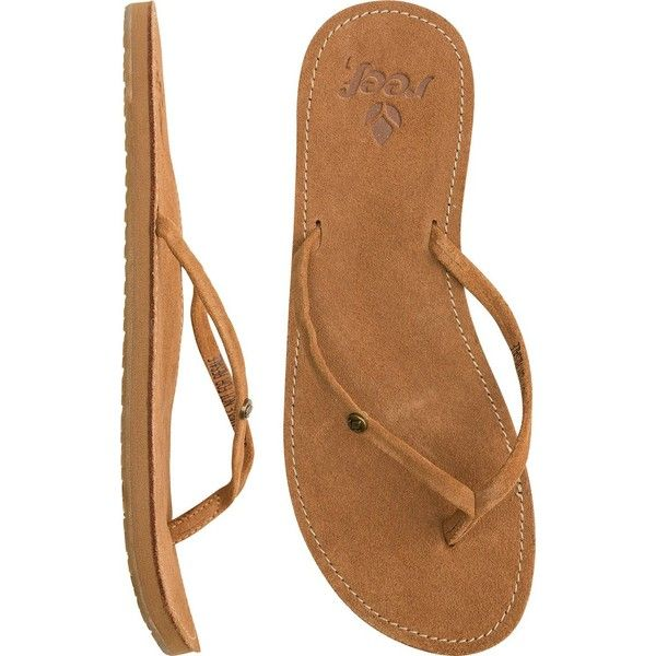 REEF GIRLS Reef gypsy uptown sandal ($26) ❤ liked on Polyvore featuring shoes, sandals, real leather shoes, gypsy sandals, leather footwear, genuine leather shoes and pointed shoes