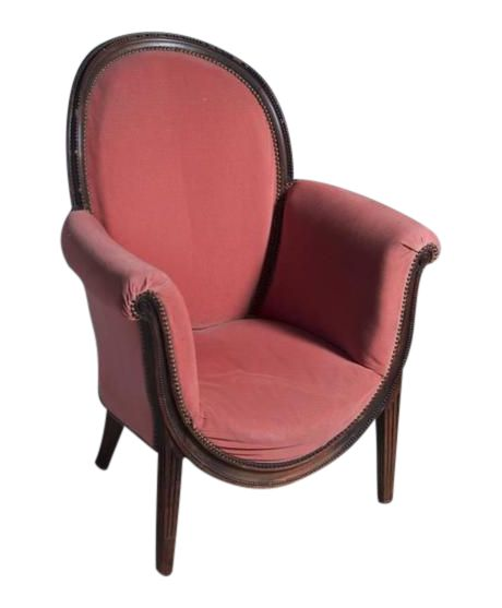 Andre Groult Early Art Deco Single Club Chair on DECASO.com