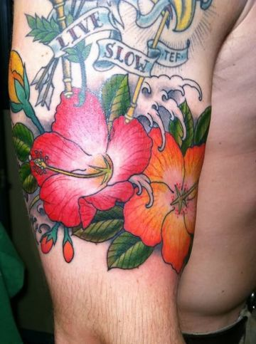 Universales Obras Y Tatuajes De Flores Para Hombres Tatuajes Para