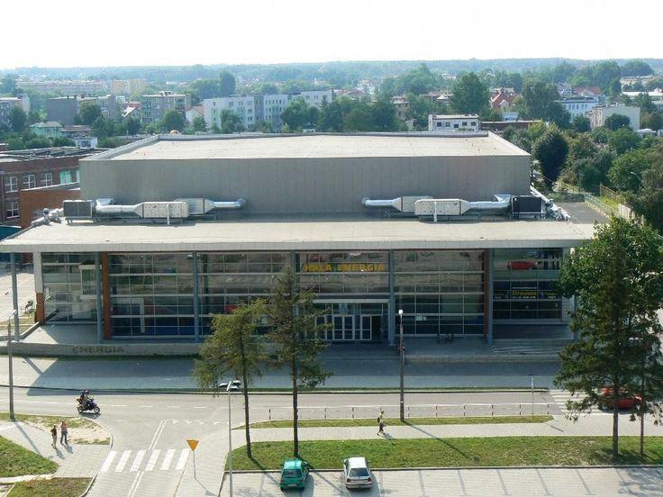 Hala Energia  im. Edwarda Najgebauera, dd  2006 roku  rozgrywane są na jej parkietach mecze Skry Bełchatów. Hala ma 2,7 tys. miejsc siedzących. #sportowelodzkie