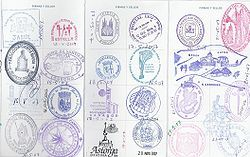 I'll likely choose one of the hundreds of pilgrim passport stamps for my tattoo at the end of the trek.