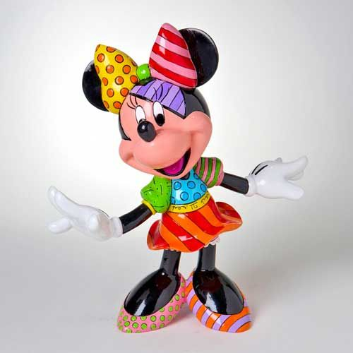 Just got this one for my birthday.   Looking forward to more.  Romero Britto Disney Minnie Sculptures