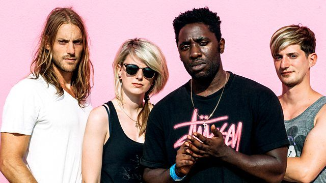 BBC Radio 6 Music - 6 Music Live at Maida Vale, 2015, Lauren Laverne with Bloc Party