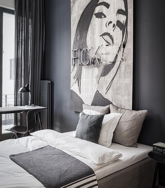 Dark, edgy, masculine. Need a place to stay in the middle of Berlin? Why not Nomads via Suite.030