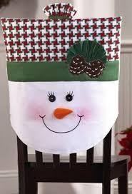 Resultado de imagen para cobertores para sillas navideños