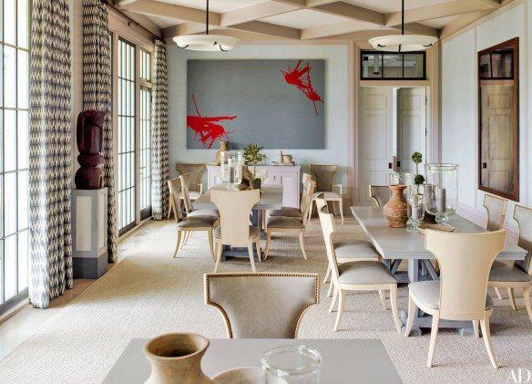 living area by Steven Gambrel via AD