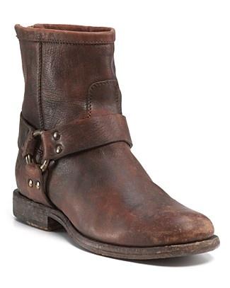Frye Philip Harness Short Boot | Bloomingdale's