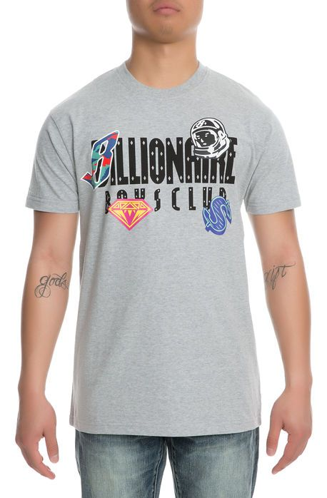 Billionaire Boys Club Tee BB CHARM Heather Grey