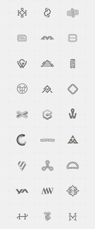 A Showcase of well designed monograms and logotypes by German designer Jonas Söder. Jonas Söder is a Berlin, Germany based freelance graphic designer worki