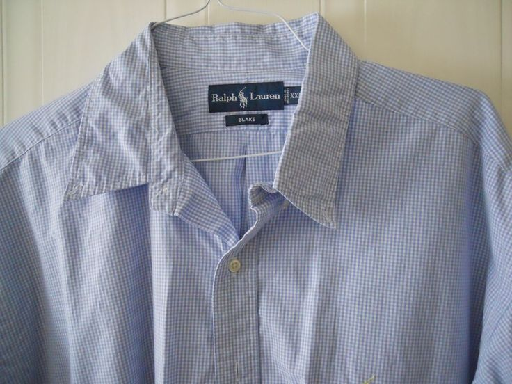 mens ralph lauren big and tall button front long sleeve
