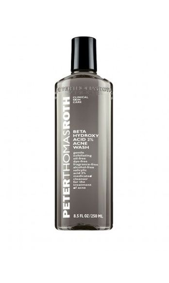 This face washes manages to be mild enough for sensitive skin, but also powerful get rid of pimple-causing bacteria and eliminate even the most stubborn zit scars. Peter Thomas Roth Beta Hydroxy Acid 2% Acne Wash, $35, sephora.com   - Cosmopolitan.com
