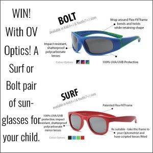 Win awesome sunglasses for your child age 4 or 7 (7 can pretty much fit me too)