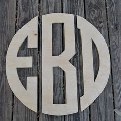 Wooden Monogram Wall Hanging 17 best circle wooden monogram images on pinterest | wooden