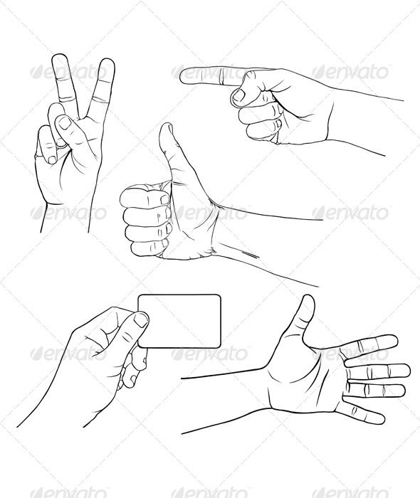 Realistic Graphic DOWNLOAD (.ai, .psd) :: http://jquery.re/pinterest-itmid-1007845523i.html ... Hands ...  arm, blank, card, cartoon, empty, excellent, fingers, gesture, good, graphic, hand, hold, illustration, language, look, open, peace, point, positive, sign, signal, silhouette, skin, space, spread, stop, symbol, thumb, up, victory  ... Realistic Photo Graphic Print Obejct Business Web Elements Illustration Design Templates ... DOWNLOAD :: http://jquery.re/pinterest-itmid-1007845523i.html