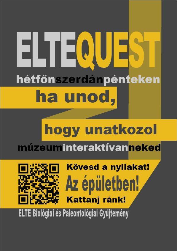 Elte Quest plakátok - sárga