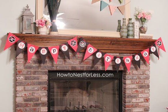 Pirate party decorations 3