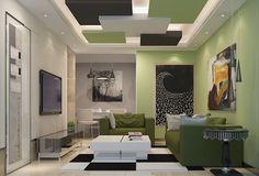 Living room   False Ceiling   Gypsum Board   Drywall   Plaster – Saint-Gobain Gyproc India  