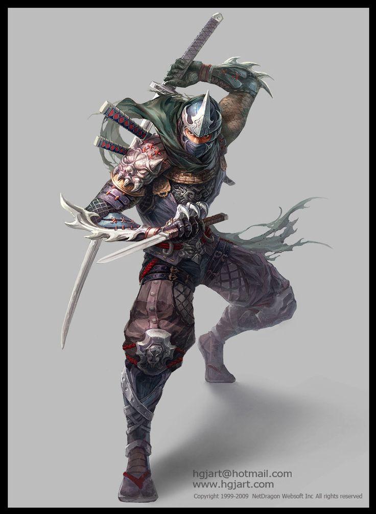 Ninja_2_by_hgjart.jpg (764×1045)
