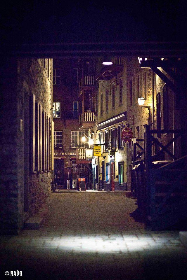 Quartier du petit Champlain Photographie: André Nadeau