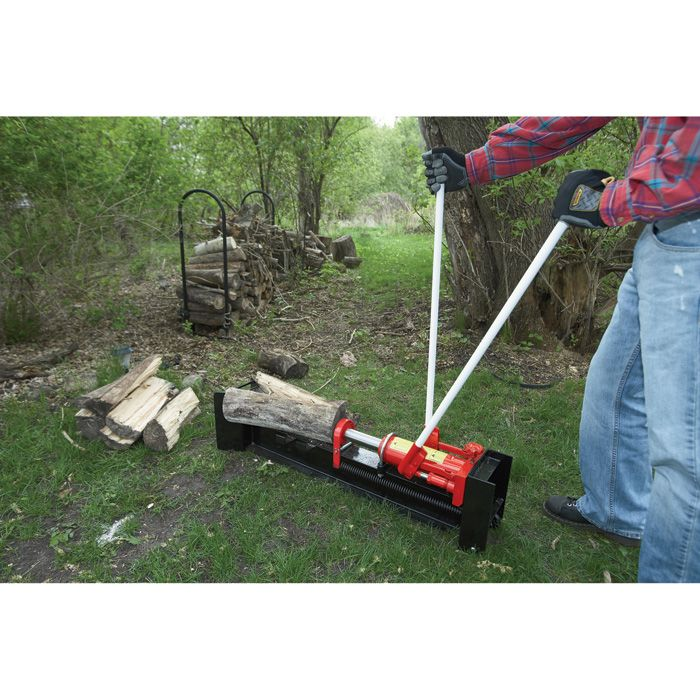 Wel-Bilt Horizontal Manual Hydraulic Log Splitter — 10-Ton