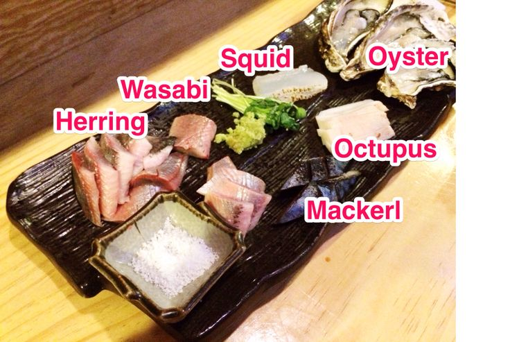 One of My favorite food !  Sashimi combination