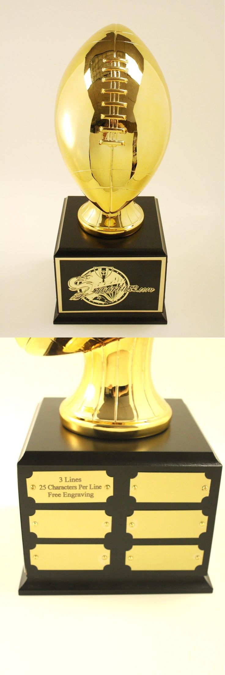 Other Football 2024: Fantasy Football Trophy 18 Year Perpetual- Free Engraving!!! Ships In 1 Day!! BUY IT NOW ONLY: $109.99